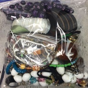 Crafters Jewelry Lot Recycle Repurpose lot 19